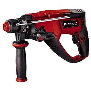 Einhell Bohrhammer TE-RH 26 4F (800 W, Schlagzahl 0-4.500/Min, 2,6 Joule, pneumatisches Schlagwerk, SDS-plus…
