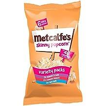 Metcalfe's Skinny Variety Topcorn Multipack 17g x 6 per pack