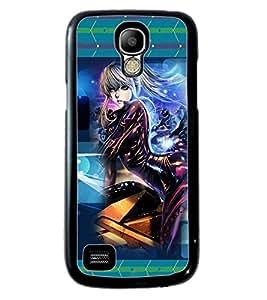 Printvisa 2D Printed Girly Designer back case cover for Samsung S4 Mini - D4145