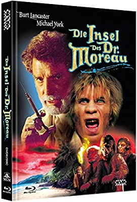 Die Insel des Dr. Moreau [Blu-Ray+DVD] auf 222 limitiertes Mediabook Cover C