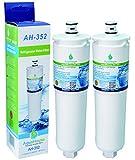 2x AH-352 compatible pour Bosch Neff Siemens réfrigérateur filtre à eau CS-52, CS-452, CS-51, 640565, 5586605