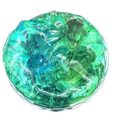 (HCFKJ Schöne Farbe Mischen Cloud Slime Squishy Kitt duftenden Stress Kids Clay Spielzeug (Multicolor, -✿-))