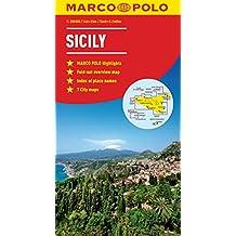Sicily Marco Polo Map (Marco Polo Maps)