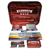 Reds Brand Exclusive Elements King Size Slim Rolling Papers (Mix Tray RED)