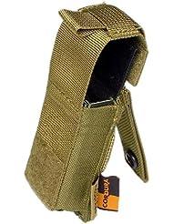 Flyye .45 Pistola Cargador Bolsa MOLLE Khaki