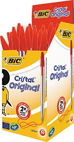 bic-cristal-medium-boligrafo-de-punta-redonda-color-rojo-50-unidades
