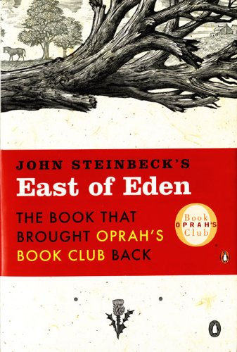 Book cover for East of Eden