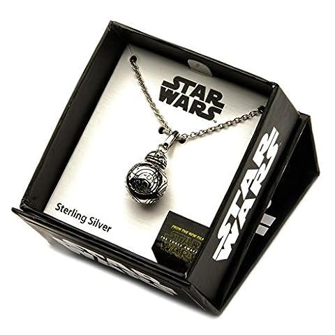 Bb8 Star Wars - Officiel en argent Sterling 925 Star Wars