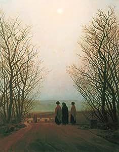 """Stampa artistica / Poster: Caspar David Friedrich """"Ostermorgen"""" - stampa di alta qualità, immagini, poster artistici, 75x95 cm"""