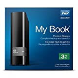 WD My Book 3 TB USB 3.0 Hard Drive with Backup