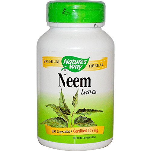 Neem 100 Capsulas Nature`S Way