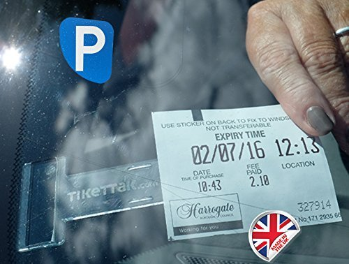 Preisvergleich Produktbild tikettak, Auto Windschutzscheibe Ticket und erlaubt Halter Fleet Pack (100Clips)