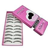 Omiky® Neue japanische Art-Schwarzes 10 Paare Hochwertige Wimpern HS-8