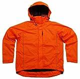 Polaris Kid's Apollo Waterproof Cycling Jacket Fluo Orange Medium