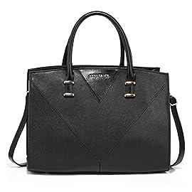 LeahWard Women's Designer Tote Bags Large Faux Leather Handbags Shoulder Bag For Her School 536