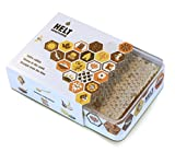 HELT Honeycomb, Comb Honey, Raw Honey, minimum 400g