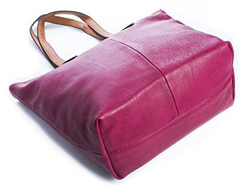 Big Handbag Shop - Sacchetto donna (Cammello medio)