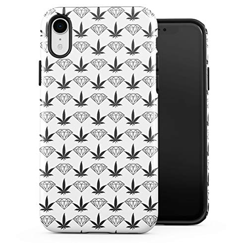 Cover Compatible With iPhone Xr 2 Pezzi Doppio