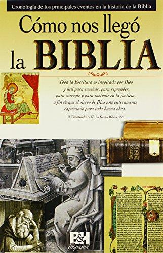 Como Nos Llego la Biblia: Cronologia de los Principales Eventos en la Historia de la Biblia