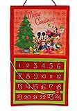 Disney Mickey Adventskalender, rot