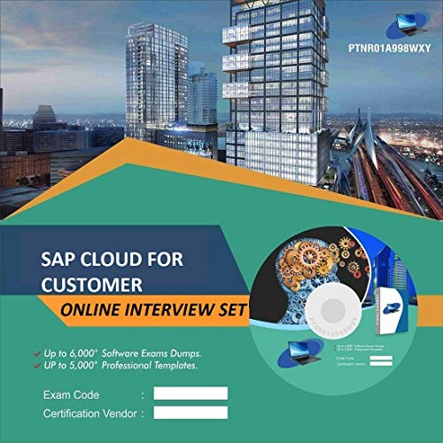 SAP CLOUD FOR CUSTOMER Complete Unique Collection Interview Video Training Solution Set (DVD)