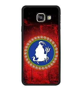 Fuson Lord Shiva logo Designer Back Case Cover for Samsung Galaxy A5 (6) 2016 :: Samsung Galaxy A5 2016 Duos :: Samsung Galaxy A5 2016 A510F A510M A510Fd A5100 A510Y :: Samsung Galaxy A5 A510 2016 Edition (Shiva Easwara Easwar Dhyutidhara Gangadhara Kailashnath Lingaraja Mahadeva)