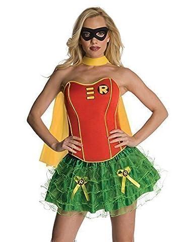 Costume Robin Rouge - Fancy Me - Déguisement femme Batgirl Supergirl