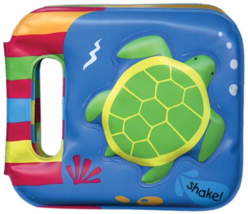 Turtle: Bath Book With Rattle