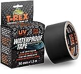 T-Rex 827-00 Waterproof Tape - Wasserdichtes, wetterfestes Reparaturband zum Befestigen und Abdichten - 50mm x 1,5m
