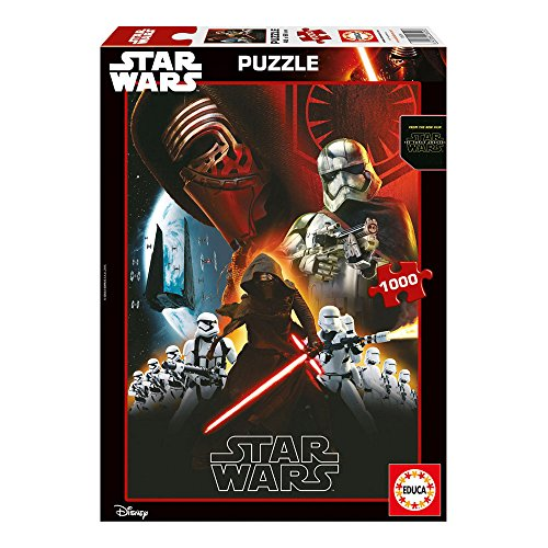 Educa 16524.0 - Puzzle - 1000 Star Wars: EP. VII - The Force Awakens (Wars Star Ep 7)