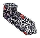Para hombre flaco corbata en muchos estilos diferentes (Las Piedras Rodantes)