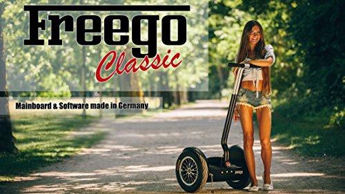 Preisvergleich Produktbild ORIGINAL FREEGO CLASSIC SELF BALANCE SCOOTER MIT DEUTSCHER STEUERUNG KEIN SEGWAY