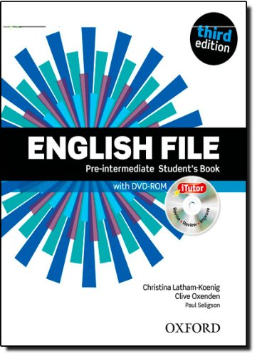 English File third edition: English file pint sb & itutor Pack 3ed