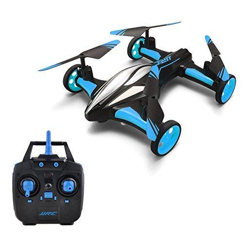 GEEDIAR-JJRC-H23-Voler-Voiture-24G-6-Axis-Gyro-RC-Voiture-Volante-avec-Rotation-360-Degrs-sans-Tte-Tlcommande-Quadcopter-Voiture