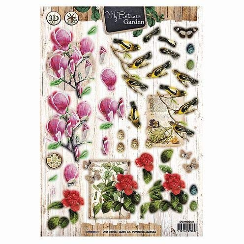 My Botanic Garden (EASYMBG424) - 3D Stanzbögen