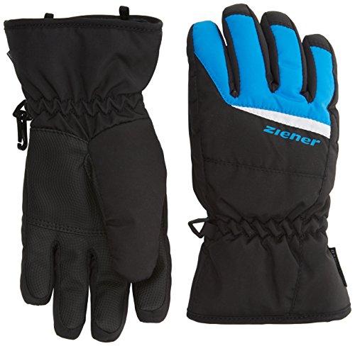 Ziener Kinder LIPO AS(R) Glove junior Alpinhandschuhe, Black.Persian Blue, 3.5 | 04052928975720
