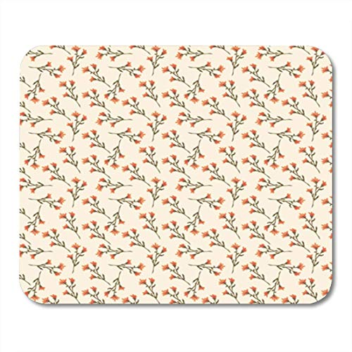 HOTNING Gaming Mauspads Gaming Mouse Pad Decorative Background with Repeating Elements for Printing Design Decoupage Scrapbooking 11.8