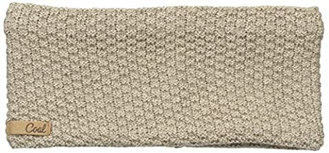 Coal Women's The Cameron Waffle Knit Headband, Khaki, One Size
