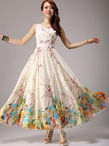Vastra fashion Women\'S Dress (woman Frock Dress_White_Free Size)