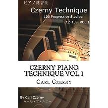 Czerny Piano Technique Vol 1