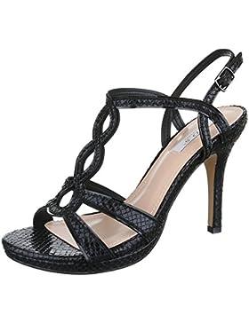 High Heel Sandaletten Damen Schuhe Plateau Pfennig-/Stilettoabsatz High Heels Schnalle Ital-Design Sandalen /...