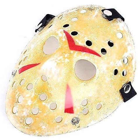 Masquerade Masque Dor - Edealing Masque 1PCS Or Vintage Jason Voorhees