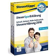 SteuerSparErklärung 2017 (für Steuerjahr 2016)
