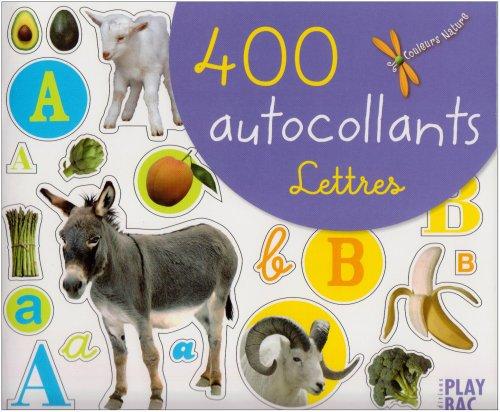 400 autocollants lettres