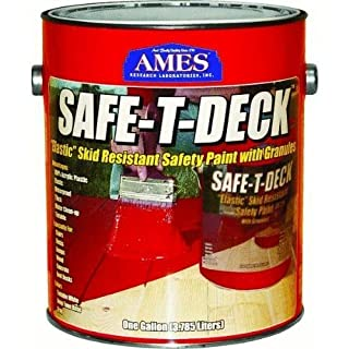 Safe-T-Deck Elastomeric Waterproofing Sealer Deck Paint by Ames Research Laboratories, Inc.