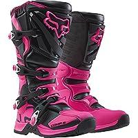 Fox Girls Motocross-Stiefel Comp 5 Schwarz/Pink 38.5