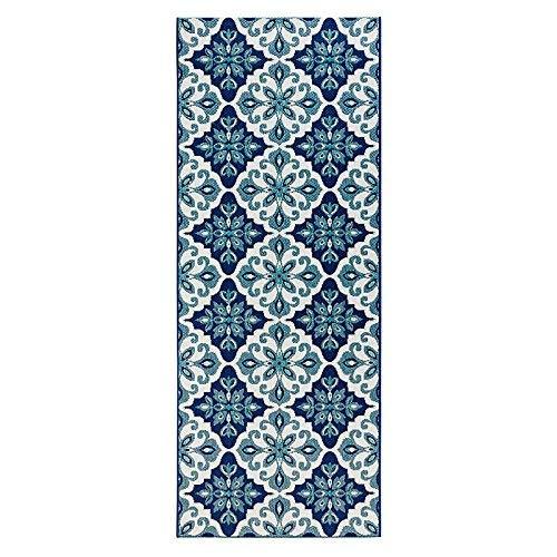 Zala Living Jewel Küchenläufer, Polypropylen, Blau, 80x200 cm