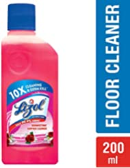Lizol Disinfectant Floor Cleaner Floral, 200ml