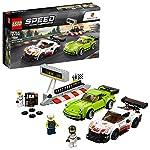 LEGO Speed Champion McLaren Senna con Minifigure del Pilota, Set di Costruzioni, Idea Regalo per Tutti gli Appassionati di Motori e per Bambini +7 Anni, 75892  LEGO