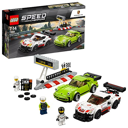 LEGO Speed - Porsche 911 RSR e 911 Turbo 3.0, 75888